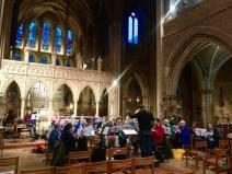 Recording at St. John the Evangelist