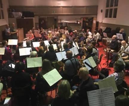 Surrey Yeomanry Rehearsal 2